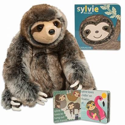 Sloth Sylvie Bundle Books Stuffed Board Toys