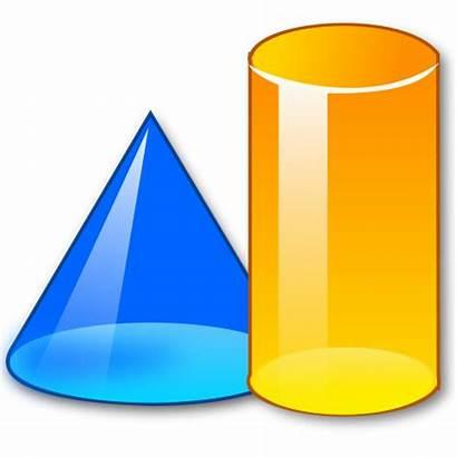 Shapes Math 3d Clipart Clip Shape Mathematics