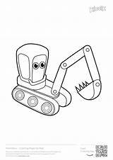 Coloring Pages Excavator Digger Printables Construction Printable Excavators Colouring Games Boys Toddlers Toddler Ford Joker Activities Popular Printer Cars Coloringhome sketch template