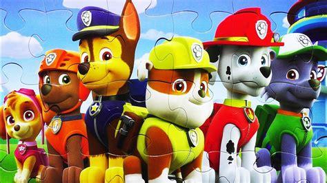 Paw Patrol Pups Puzzle Games Marshall, Chase, Skye, Zuma