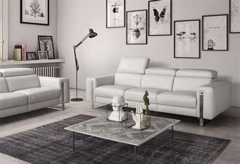 Divano Design Alida Divano In Pelle Sofa Club Montebelluna