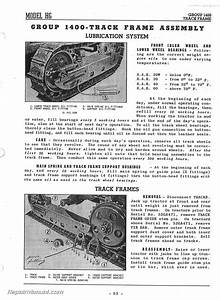 Oliver Cletrac Hg Tractor Instruction Manual