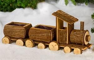 Weihnachtsdeko Aus Holz Basteln : dekozug aus holz mit 2 wagons g nstig online kaufen ~ Whattoseeinmadrid.com Haus und Dekorationen