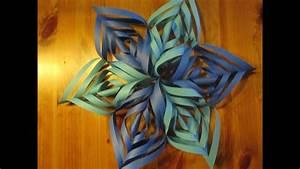 Basteln Für Weihnachten Erwachsene : weihnachtsbasteln papierstern ornament basteln bastelideen weihnachten weihnachtsdeko youtube ~ Orissabook.com Haus und Dekorationen