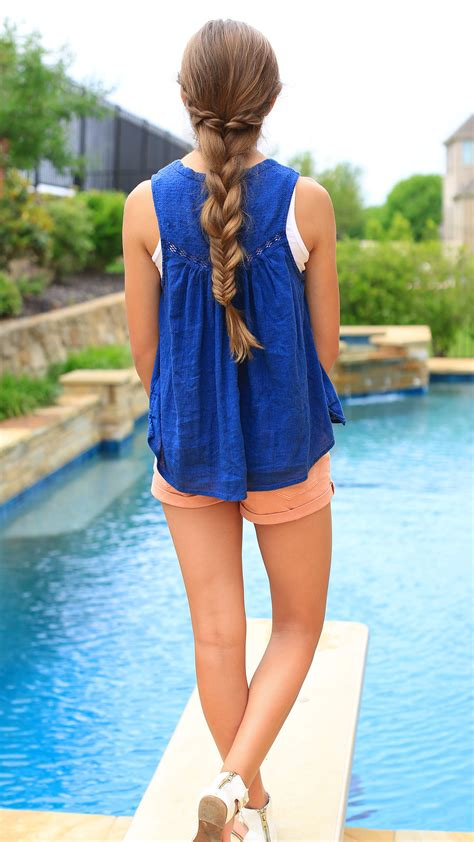 rope twist combo braid cute girls hairstyles