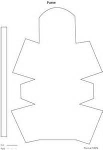 Paper Purse Template Patterns