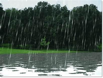 Rain Gifs Raining Animated Funny Falling Fall