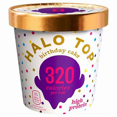 Birthday Cake Halo Ice Cream Calorie Low