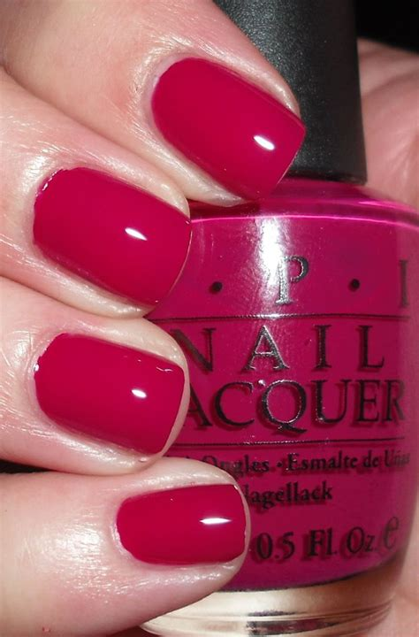 beet color opi miami beet nail color manicure berry