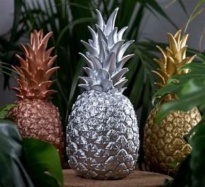 Ananas Deco Argent : lampe ananas en argent pi a colada goodnight light en vinyle moul ~ Teatrodelosmanantiales.com Idées de Décoration