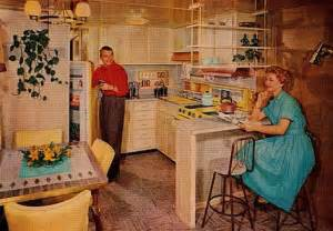 1950s Mobile Home Kitchen