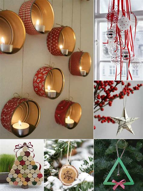 decoration facile a faire bougeoir de noel a faire soi meme obasinc