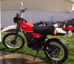 1981 Yamaha Xt250 Specification