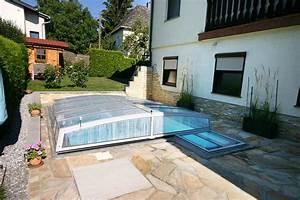 Pool Mit überdachung : schwimmbecken und berdachung f r kleine g rten ~ Eleganceandgraceweddings.com Haus und Dekorationen