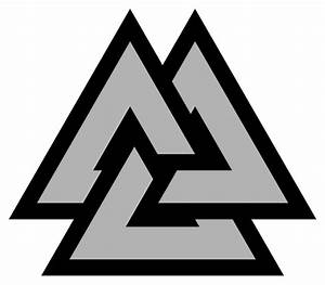 File Valknut-symbol-triquetra-alternate Svg
