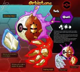 Orbistone Fan made Pokemon concept