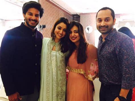 dulquer salmaan wishes wife amaal sufiya    adorable  filmibeat