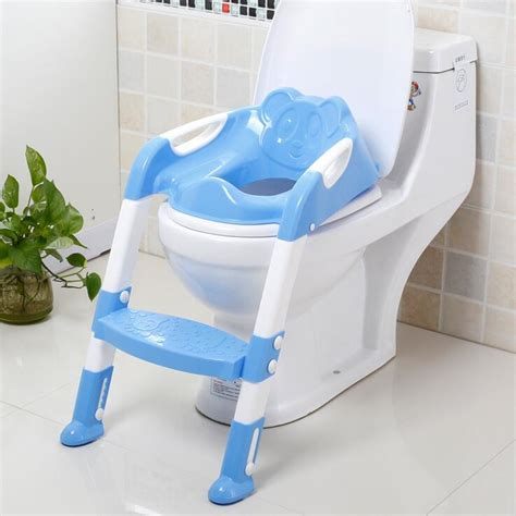 The Folding Potty Seat by Baby Potty Seat With Ladder Children Loz Toilet Seat Cover