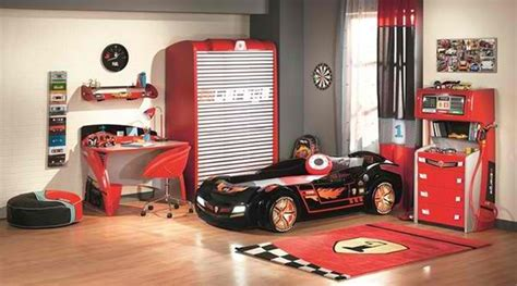 Zoom With Style In Car Themed Bedroom For Your Boys