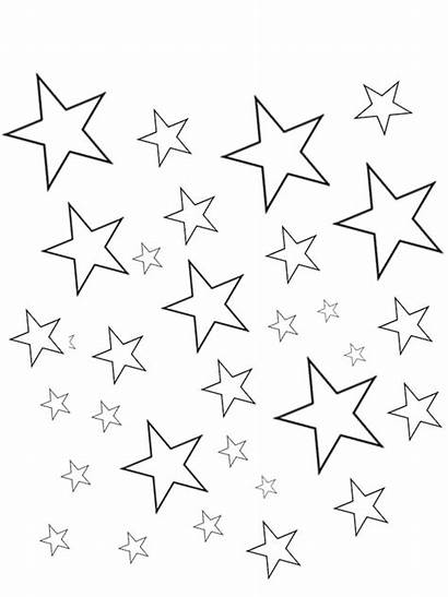 Coloring Sky Night Pages Star Printable Getcolorings