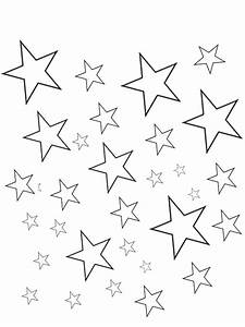 Star Outline Printable Many Interesting Cliparts