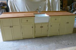 belfast sink kitchen unit large belfast sink and large appliance unit the olive 4411