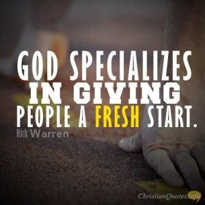 fresh start religious quotes quotesgram