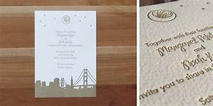 wedding invitations just my type letterpress With wedding invitation printing san francisco