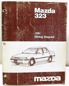 U0026 39 1991 Mazda 323 Wiring Diagram Schematics Shop Manual