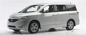 Minivans Crash Test by As 60 Of Minivan Models Fail 40mph Crash Safety