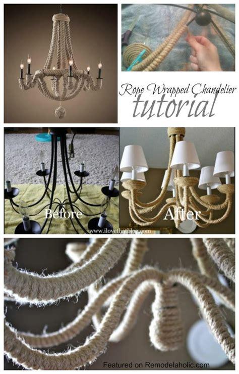 chandelier tutorial remodelaholic knockoff diy chandelier