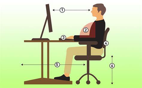 position bureau comment bien s 39 asseoir devant l 39 ordinateur