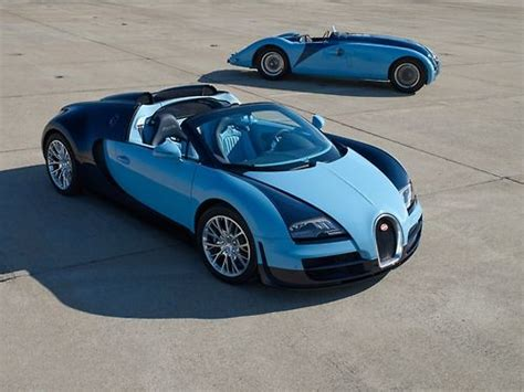 Gorgeous Bugattis, New And Old