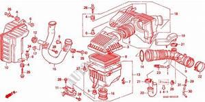 Air Cleaner  2  For Honda Cars Civic Vti Lev 4 Doors 4