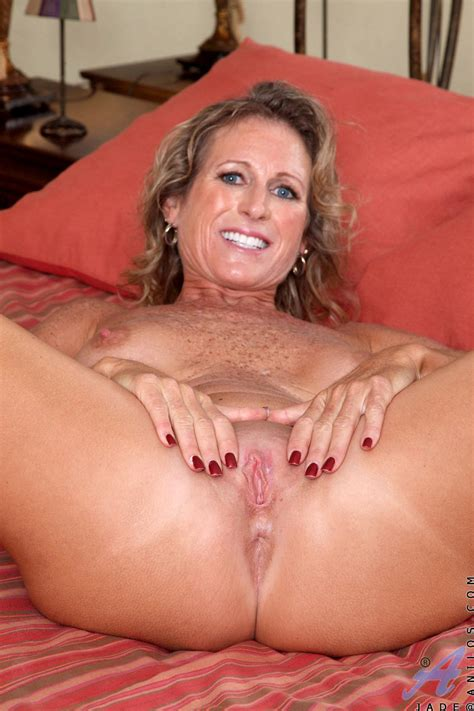 Horny Milf With Gorgeous Big Boobs And Sexy Freckles All Over Them Stripping The Milf