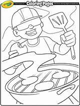 Coloring Pages Labor Crayola Bbq Summer Burgers Printables Grill Crafts Printable Grillin Independence American Colouring Ready 4th July Adult Getcoloringpages sketch template