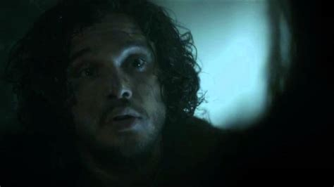 game  thrones se jon snow talks  mance