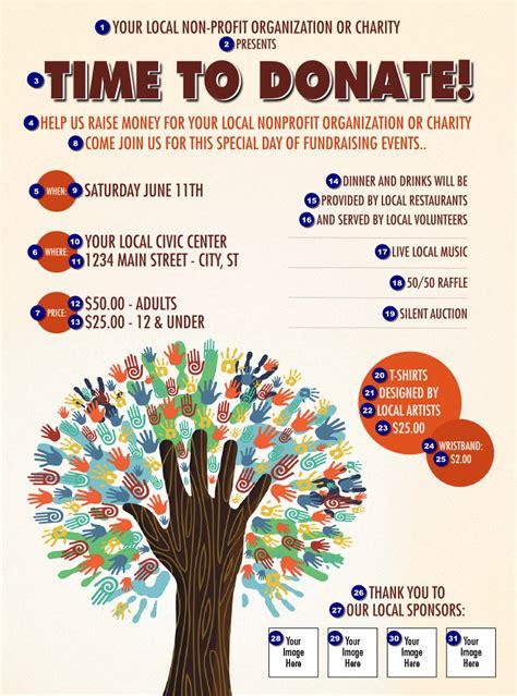 fundraiser tree flyer ticketprintingcom