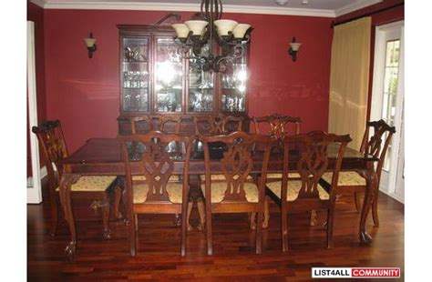 stanley furniture dining room hutch vintage stanley