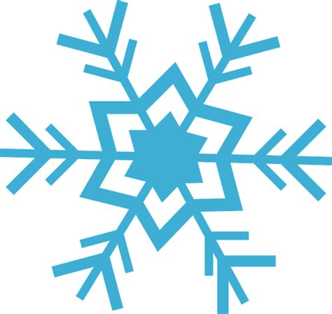 Cetakan Salju Frozen Stencil free vector graphic flake snow blue winter free