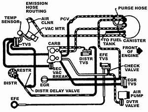 repair guides vacuum diagrams vacuum diagrams With 307 oldsmobile engine diagram