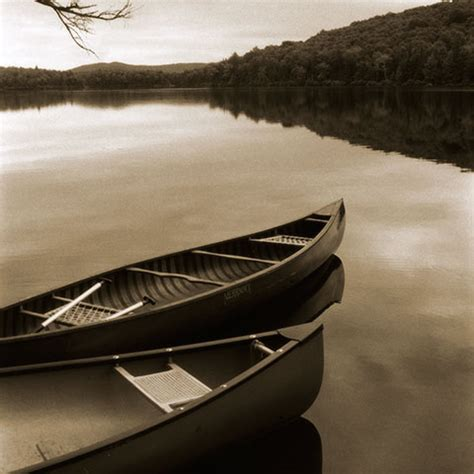 Canoes Vermont by Two Canoes Vermont Rock River Studio