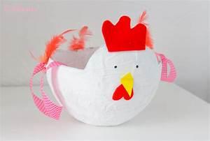 Poule Pour Paques : d i y panier poule pour p ques la belle envie ~ Zukunftsfamilie.com Idées de Décoration