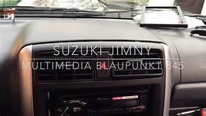 Removal Radio Suzuki Jimny -blaupunkt New York 845