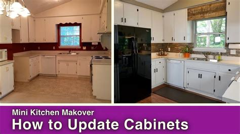 how to update my kitchen cabinets how to paint update kitchen cabinets 8941