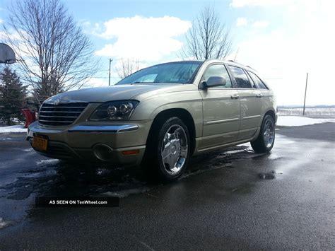 2005 Chrysler Pacifica Limited 2005 chrysler pacifica limited loaded