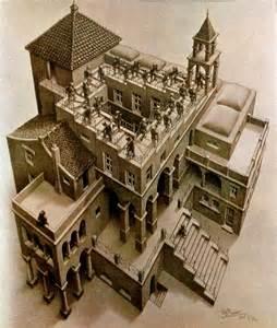 M.C. Escher Hands Drawing