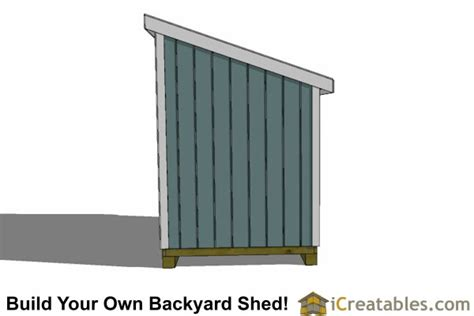 6 X 12 Shed Plans by 6x12 Lean To Shed Plans 6x12 Storage Shed Plans
