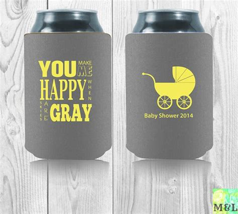 Baby Shower Koozie Ideas