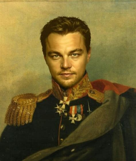 Famous People Redrawn As 19th Century Generals Madten